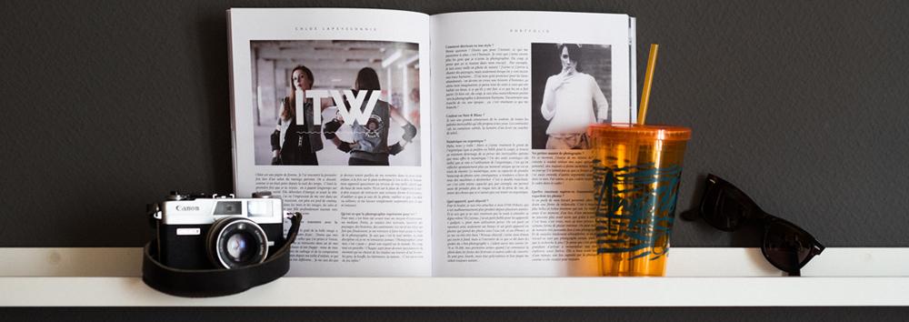 Interview + Portfolio (8 pages)