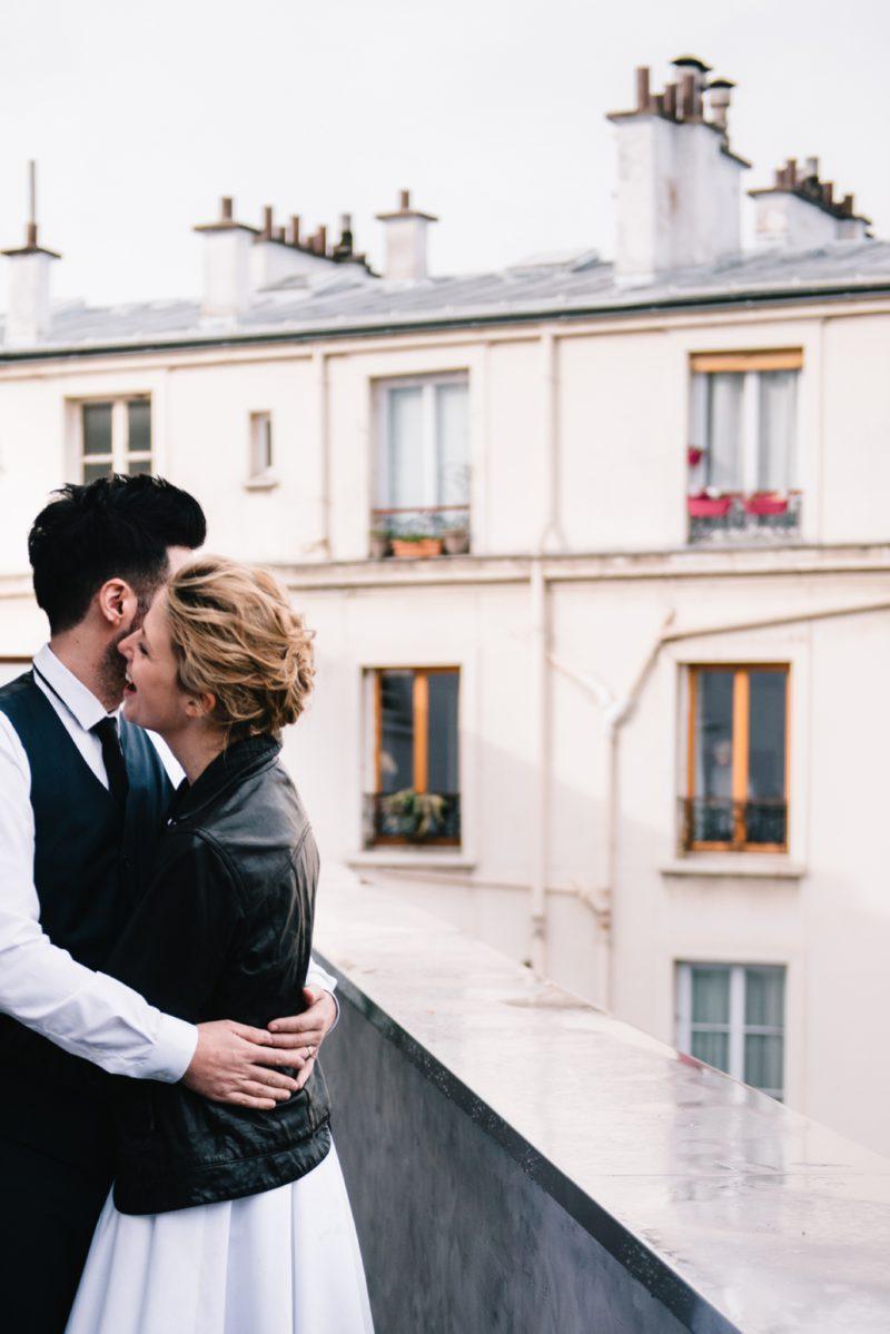 Katia + Antoine - The Modern Couple - Chloé Lapeyssonnie
